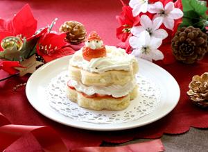 クリスマス風パンケーキ