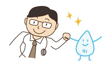 日本人医師と水素水